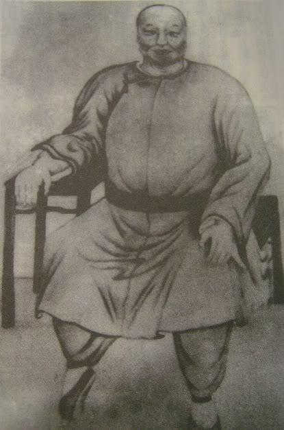 Chân dung Đổng Hải Xuyên - vị hoạn quan hữu tuyệt kỹ Bát quái chưởng và nằm trong hàng ngũ thập đại cao thủ võ lâm vào thời nhà Thanh. (Tranh: nguồn internet).