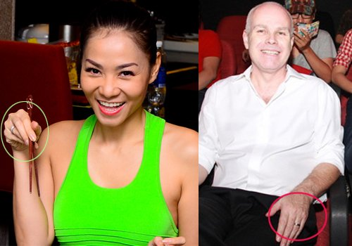 Nhẫn đôi trên tay của Thu Minh và ông xã chứng minh tình yêu của cặp vợ chồng đẹp nhất nhì showbiz Việt