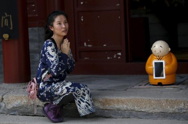 Michelle Yu, một du khách và cũng là Phật tử thuần thành, cho biết lần đầu tiên cô nhìn thấy Xianger là trên mạng.