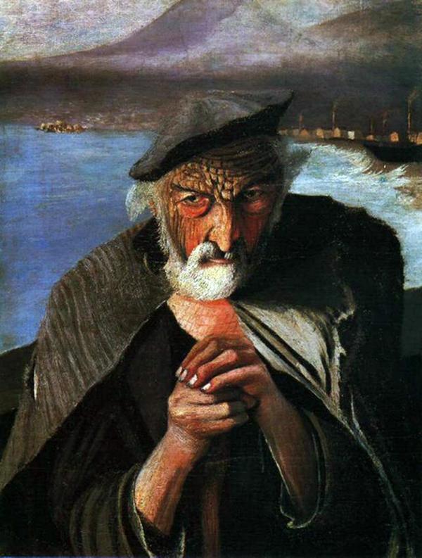 Bức Ông lão đánh cá của Tivadar Kosztka