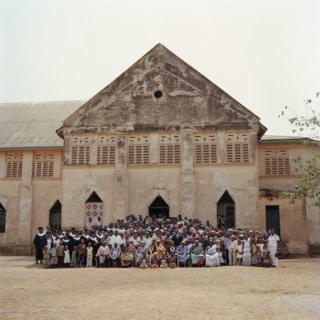 Người dân dân tộc Ewe tại Togo, nơi ông vua châu Phi cai trị