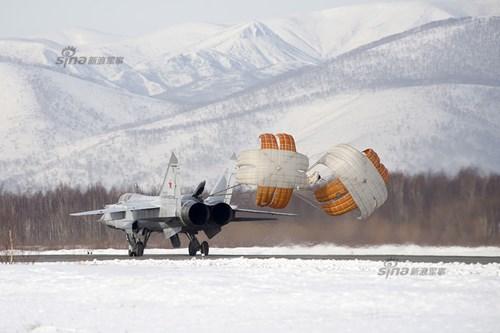 MiG-31 được nhận vào trang bị không quân Bộ đội Phòng không Liên Xô vào năm 1981 và bắt đầu trực chiến ở Viễn Đông vào năm 1983.