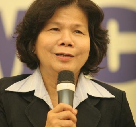 Tác giả Vũ Kim Hạnh - Chủ tịch Hội Doanh nghiệp Hàng Việt Nam Chất Lượng Cao (Hội DN HVNCLC) - Phó chủ tịch Câu lạc bộ Doanh nghiệp dẫn đầu (LBC) - Giám đốc Trung tâm nghiên cứu kinh doanh và hỗ trợ doanh nghiệp (BSA)
