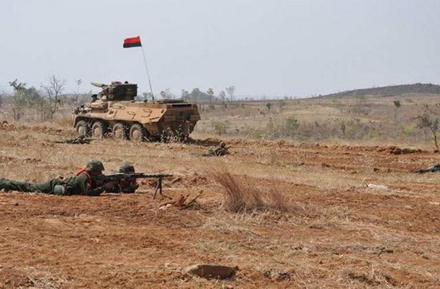 Xe thiết giáp chở quân (APC) BTR-3U hiện là loại taxi chiến trường tốt nhất của Myanmar, nước này đã nhập khẩu 522 chiếc và còn dự tính đặt mua thêm hơn 1.000 chiếc nữa.