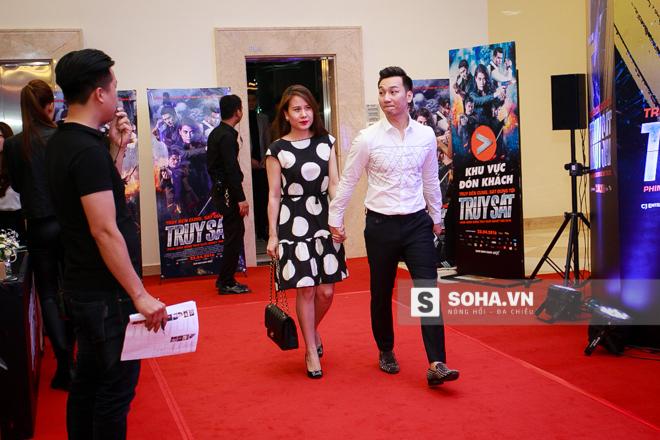 MC Thành Trung cùng bạn gái cũng góp mặt tại sự kiện.