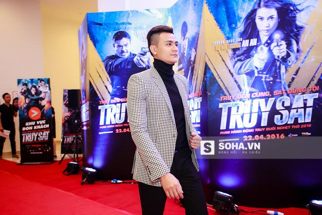 Tối 20/4/2016, Vĩnh Thụy ra Hà Nội để tham dự sự kiện ra mắt phim Truy sát. Trong phim, anh vào vai 1 chiến sĩ cảnh sát phòng chống tội phạm buôn bán ma túy.