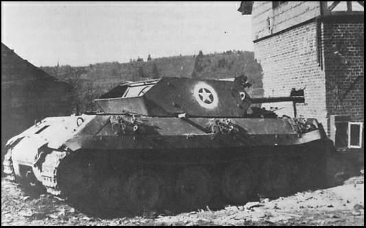 Panther ngụy trang giống một chiếc M10 của Mỹ