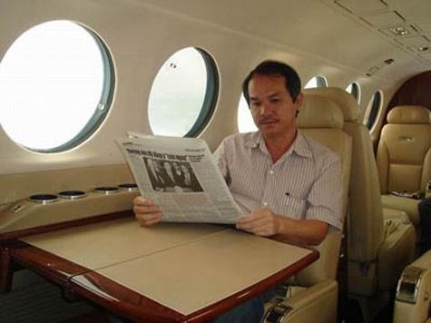 Bầu Đức là một trong những người giàu nhất Việt Nam.