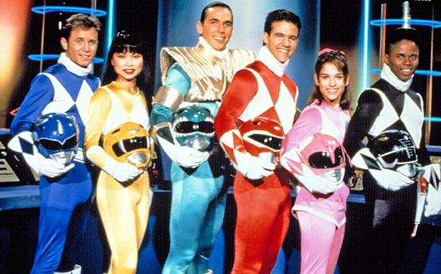 Mighty Morphin Power Rangers - 5 anh em siêu nhân phiên bản Mỹ.