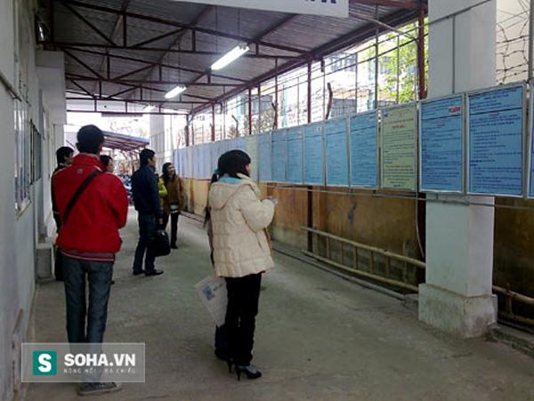 Tại Trung tâm giới thiệu việc làm Hà Nội, nhiều sinh viên ra trường đang đặt hồ sơ dự tuyển ngành điện, điện lạnh (Ảnh: Phương Nhi)