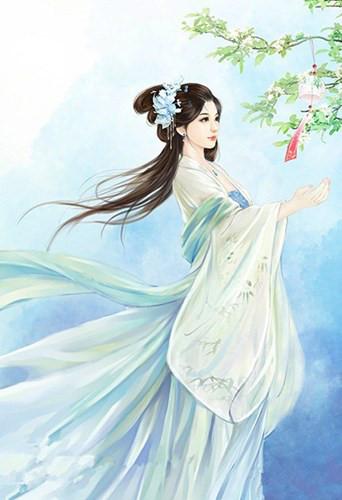 Tần Hoài bát kỹ Trần Viên Viên qua tranh vẽ (ảnh minh họa).