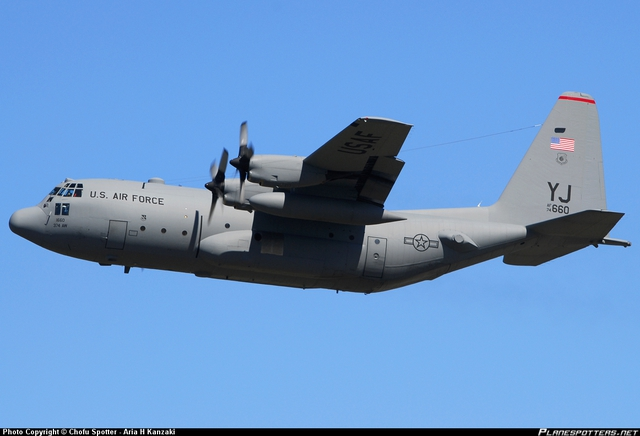 74-1660 USAF United States Air Force Lockheed C-130H Hercules (L-382) taken 19. Aug 2012 at Tokyo - Yokota AFB (OKO / RJTY) airport, Japan by Chofu Spotter - Aria H Kanzaki