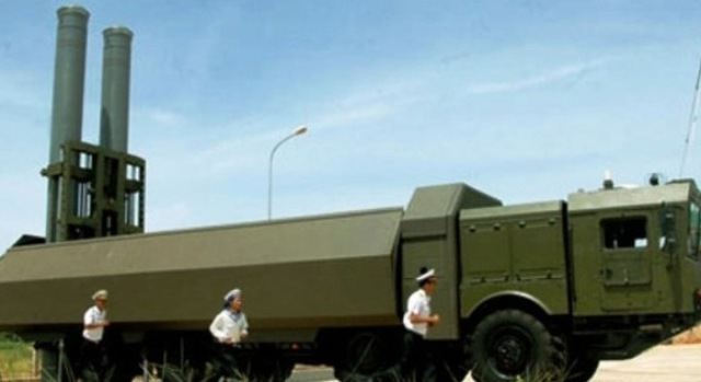 Xe mang phóng tự hành K-340P SPU của lữ đoàn 681