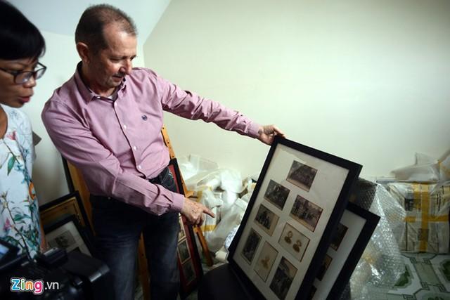 Ông Guy có nhiều bộ bưu ảnh độc đáo và quý hiếm được phân loại theo từng chủ đề khác nhau. Một trong số đó là bộ bưu ảnh về Nghĩa quân Yên Thế của Đề Thám và bộ bưu ảnh chính quyền Thực dân- phong kiến xử tử những người yêu nước sau khi cuộc khởi nghĩa của Hoàng Hoa Thám thất bại.