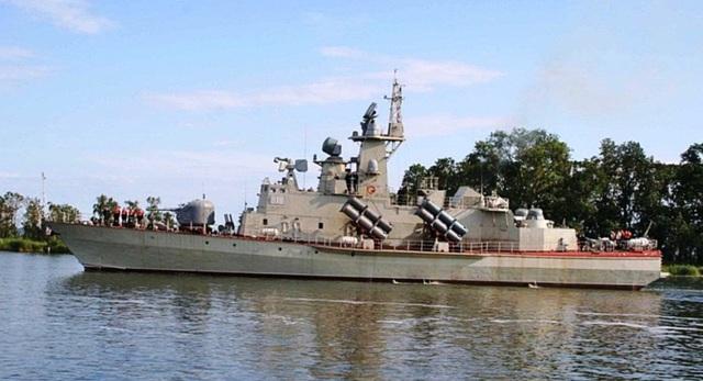 Tàu tên lửa cỡ nhỏ Molniya dự án 1241.8