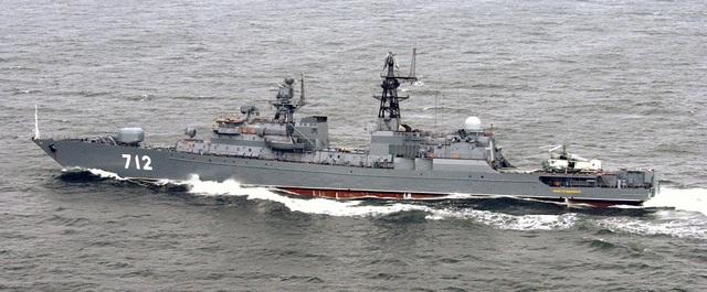 Tàu hộ vệ tên lửa Neustrashimy dự án 1154