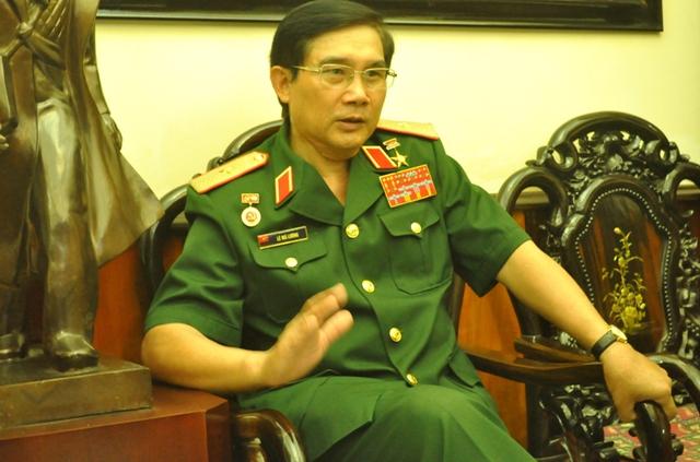Thiếu tướng Lê Mã Lương