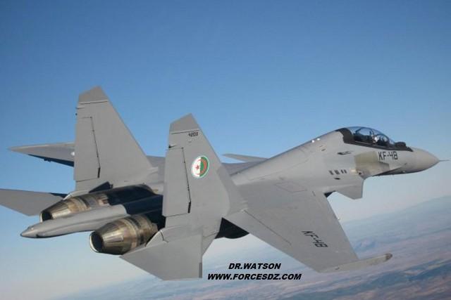 Máy bay Su-30MKA của Không quân Algeria