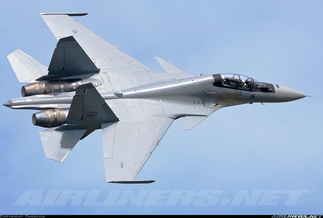 Máy bay Su-30MKM của Không quân Malaysia