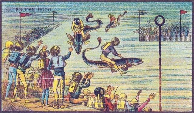 Có vẻ, 100 năm trước, con người đặt nhiều hy vọng vào các sinh vật biển.