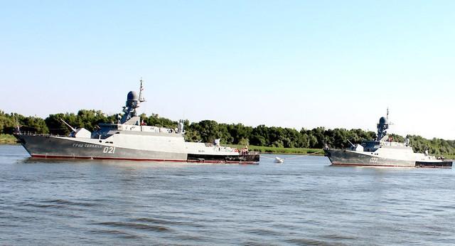 Tàu tên lửa thuộc đề án 21631 lớp Buyan-M