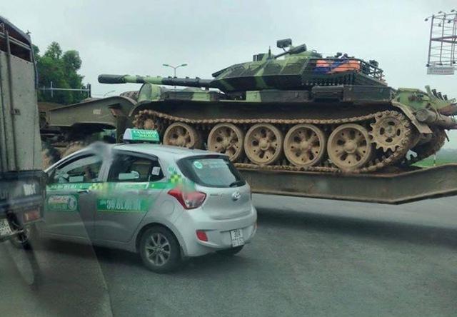 Một mẫu T-55 nâng cấp khác của Việt Nam mới xuất hiện. Ảnh: Diễn đàn Otofun.