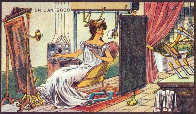 Có lẽ phụ nữ sẽ không muốn một cỗ máy làm đẹp cho mình đâu.