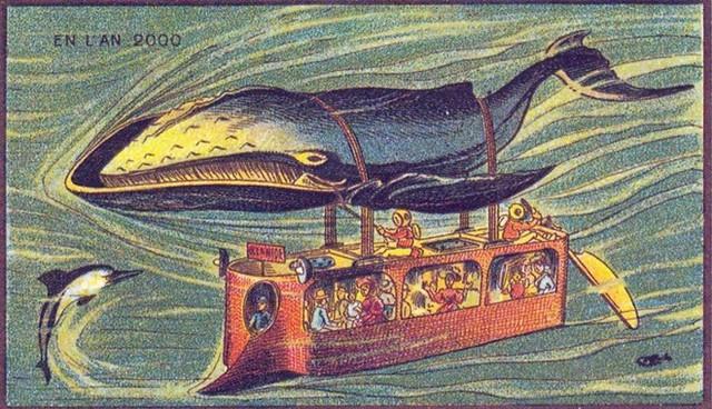 Xe bus cá voi, một ý tưởng mang tính giải trí cao.