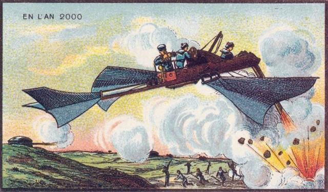 Máy bay ném bom đã trở thành thực tế trong thế giới hiện đại.