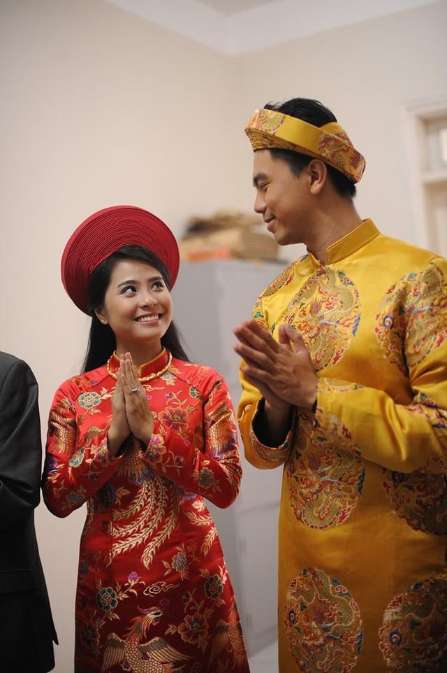 Bạn đời của Kiều Anh là cháu ngoại của giáo sư Văn Như Cương. Dù còn trẻ nhưng ca hai đã có một khoảng thời gian dài tìm hiểu nhau. Giọng ca Độc cầm rất được lòng gia đình nhà chồng. Lễ cưới của cặp đôi được tổ chức vào ngày 26/12. Ảnh: Đ.A
