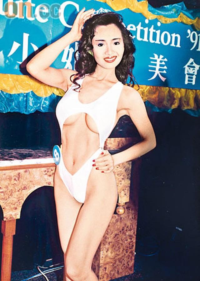 Bộ ngực cỡ 36F và vòng eo 55,8 cm của Diệp Tử My.
