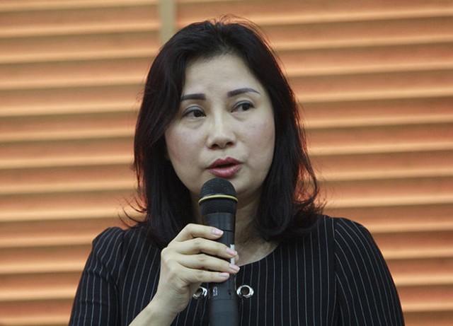 Bà Lê Minh Hương, phó vụ trưởng Vụ công chức viên chức, Bộ Nội vụ - Ảnh: V.V.T