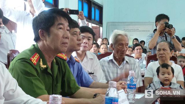 Đại diện cơ quan điều tra công an tỉnh Bình Thuận