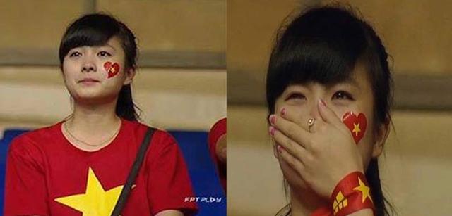 Hình ảnh của fan nữ xinh đẹp ngay lập tức gây bão, cộng đồng mạng liên tục tìm kiếm thông tin của cô. Được biết, cô gái này tên đầy đủ là Dương Thị Nhật Lệ (1993, sinh viên Học viện Tài chính Hà Nội, đến từ Thanh Hóa) một fan trung thành của Arsenal và U19 Việt Nam.