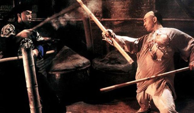 Màn quyết đấu của Chân Tử Đan và Lý Liên Kiệt trong phim Hoàng Phi Hồng - Nam nhi đương tự cường.