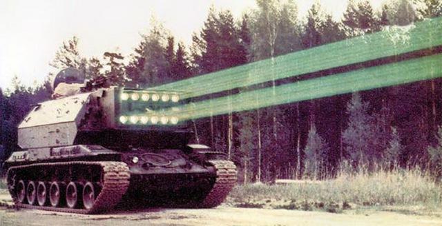 Xe tăng laser 1K17 Szhatie của Liên Xô
