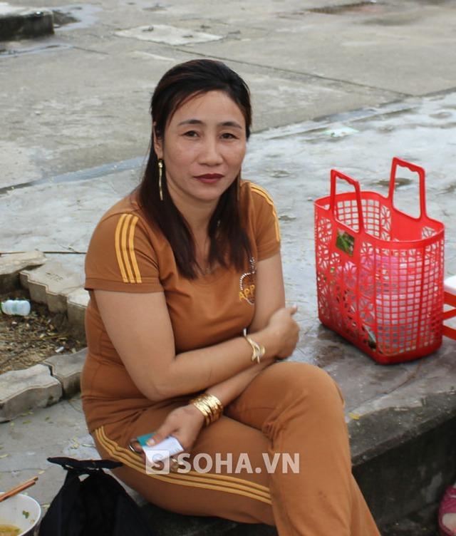 Chị Phùng Thị Ngoan.