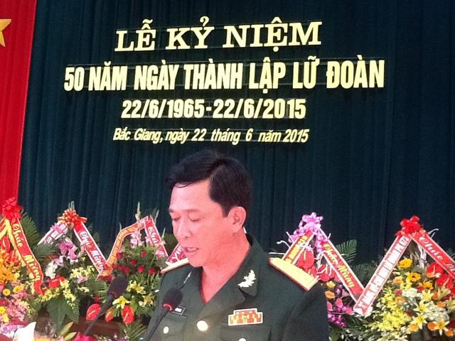 Đại tá Nguyễn Đức Dũng - Chính ủy Lữ đoàn