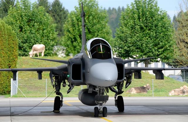Máy bay chiến đấu Saab Gripen-E.