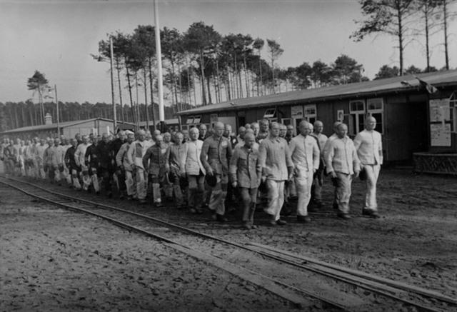 Hình ảnh trại tập trung Sachsenhausen, nơi Elser bị giam giữ