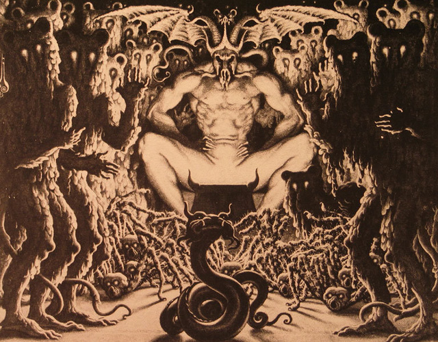 Các truyền thuyết liên quan đến quỷ Satan: