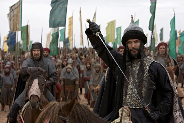 Hình ảnh Saladin trên phim