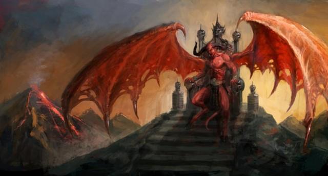 Quỷ Satan cai quản địa ngục