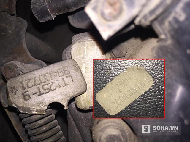 Nhiều chiếc xe đắt tiền bị làm giả số khung số máy rất tinh vi