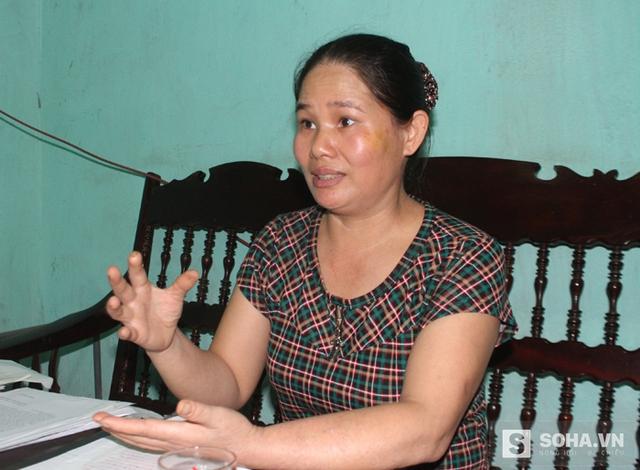 Chị Nguyễn Thị Lâm trình bày với PV về cuộc sống khổ cực của mình và về những tài sản chia không được công bằng khi ly hôn.