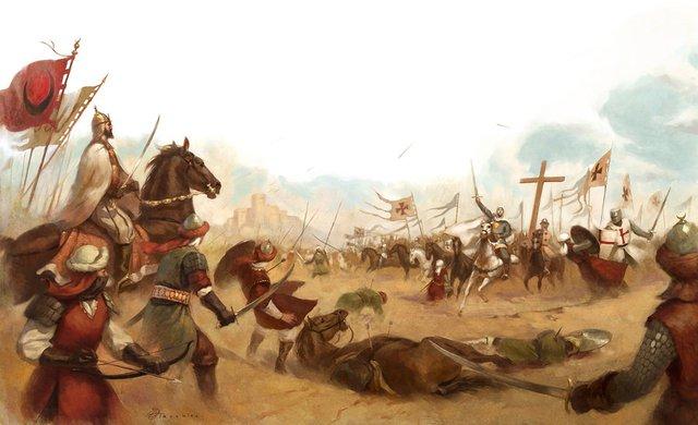 Hình ảnh mô tả trận chiến