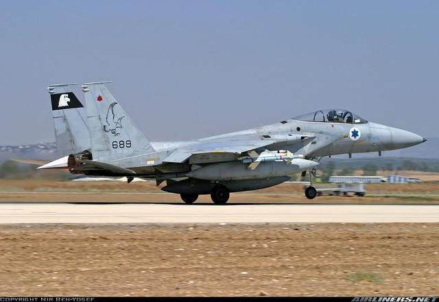 """F-15A """"Baz""""."""