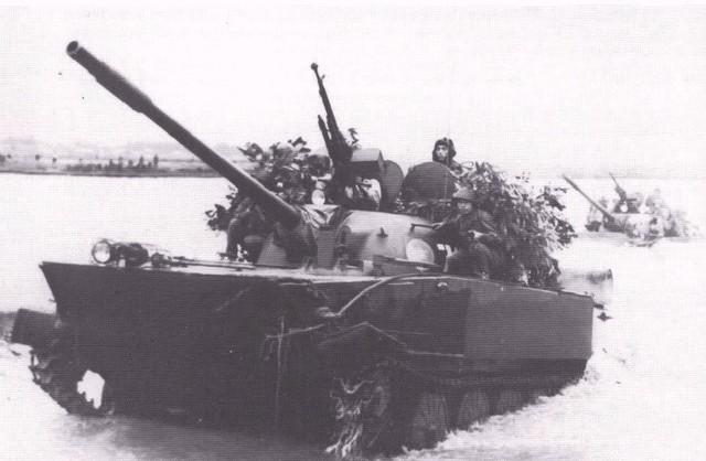 Các xe tăng bơi K-63-85 đã tham gia nhiều chiến dịch, góp phần Giải phóng hoàn toàn Miền Nam, thống nhất Đất nước.