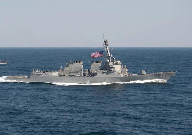 Tàu khu trục USS Lassen.
