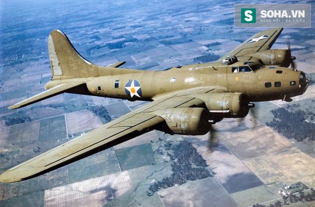 Máy bay ném bom chiến lược Boeing B-17 Flying Fortress